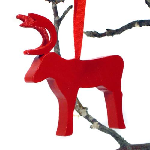 Reindeer Ornament (44677)