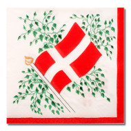 Denmark Flag Luncheon Napkins (501996)