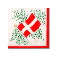Denmark Flag Cocktail Napkins (504996)