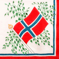 Norway Flag Cocktail Napkins (504997)