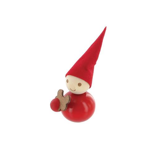 Tonttu Christmas Elf with Cookie (B4947)