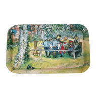 Carl Larsson Breakfast Under the Big Birch Tray (6702)