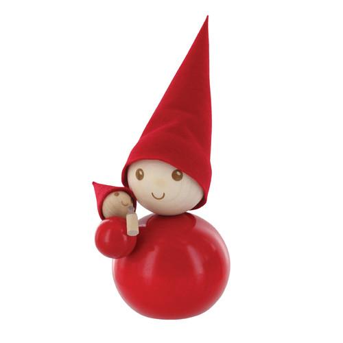 Tonttu Christmas Elf with Baby (B5488)