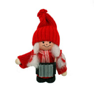 Tomte Girl with Accordion (21402)
