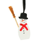 Snowman Ornament - Wooden (44816)