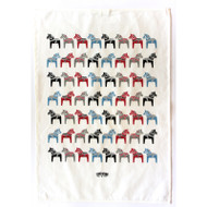 Tea Towel/Kitchen Towel - Dala Horse (86501)