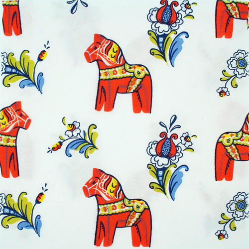 Dala Horse Luncheon Napkins (17421)