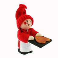 Tomte-Santa with Heart Cookie (9515)
