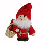 Tomte-Santa w/Baby in Basket (9721)