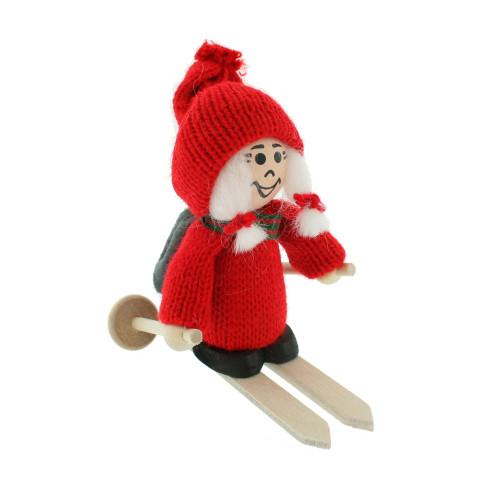 Tomte Santa Skier Girl (20530)