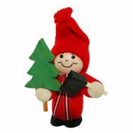 Tomte Santa Boy w/Tree & Axe (20719)