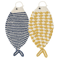Fish Tawashi Scrubbers - Set of 2 (2007001)