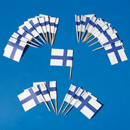 Finland Flag Toothpicks - 50-pack (5527)