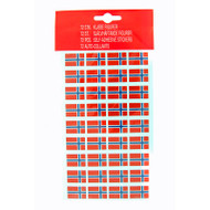 Norway Flag Stickers (5932)