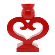 Danish Heart Candleholder (7253)