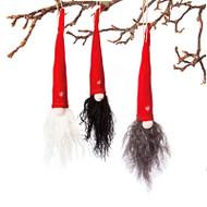 Pixy Gnome Ornaments - 3 Assorted (7511)