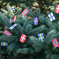 Flags on Strings - Scandinavian Countries (FS-SC)