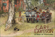 Carl Larsson Book of Postcards (AA598)