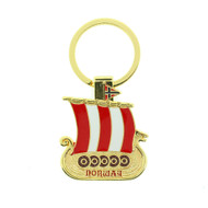Norway Viking Ship Keyring (200149)