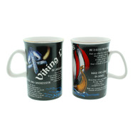 Viking Laws/Ship Mug - One Mug w/Wrap Around Photo (760015)
