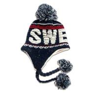 Sweden Knit Hat - Navy - Unisex Size (N14M)
