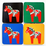Dalahorse Coaster Set (5017197)