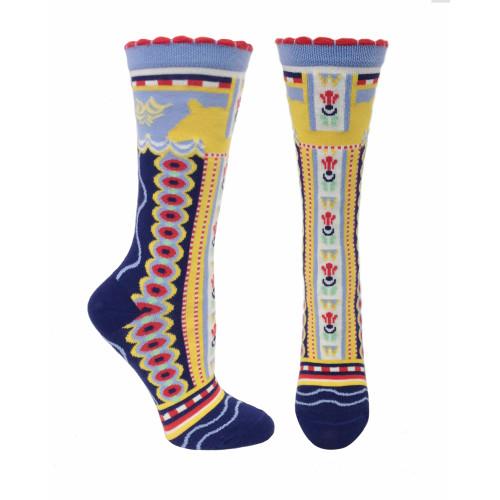 Women's Dalahorse Ozone Socks - Navy