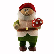 Tomte Santa Forest Man with Mushroom (123)