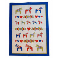 Dala Horse Kurbits Kitchen Towel (341)