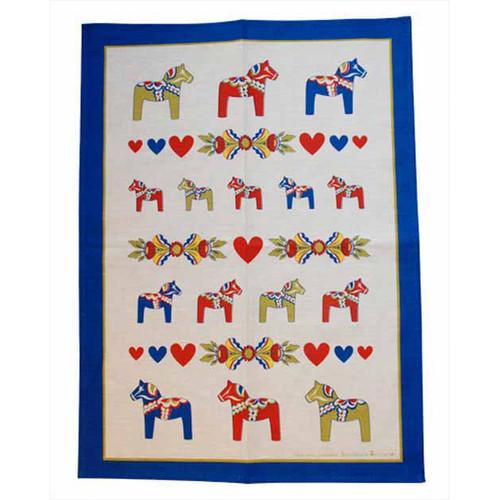 Dala Horse Kurbits Kitchen Towel (341)