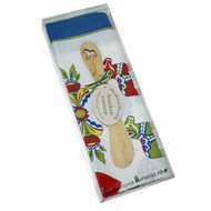Swedish Dala Horse Kurbits Kitchen Towel & Butterknife Gift Set (342)