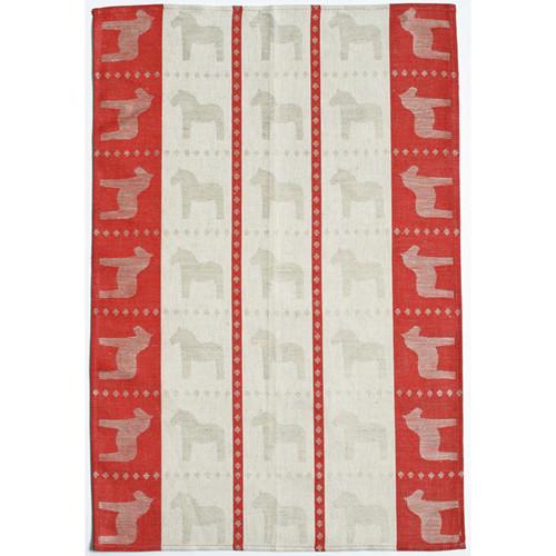 Dala Horse Kitchen Towel - Red (345-05)