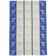 Dala Horse Kitchen Towel - Blue (345-06)