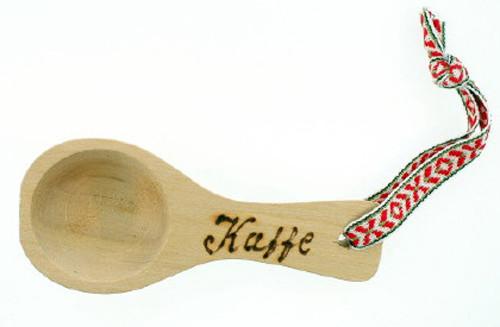 Wooden Coffee Spoon w/ribbon (112)