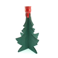 "Christmas Tree Candleholder - 5"" - (1 Chime Candle) (286)"