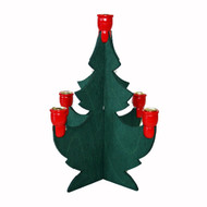 "Swedish Christmas Tree Candleholder - 8"" (287)"
