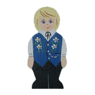 Swedish Boy Ornament - Wooden (4852)