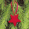 Star Ornaments - Wooden - Pack of 10 (44133)