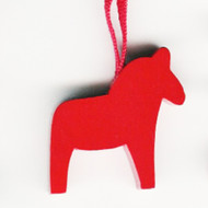 Dala Horse Ornament - Red (44708)