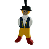Swedish Man Ornament - Wooden (45726)