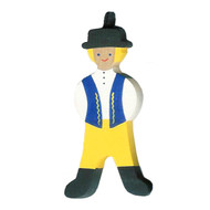 Swedish Boy Ornament - Wooden (45844)