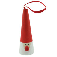 Tomte Ornament - Wooden (46181)