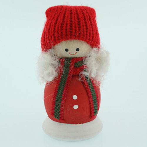 Tomte-Santa Girl - Lotta - Candle Topper (46449)