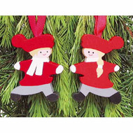 Tomte-Boy Ornament - Wooden (46575)
