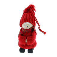 Tomte Santa Boy Ornament (46738)