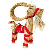 "Straw Goat - Julbock - 11"" High (85010)"