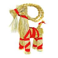 "Straw Goat - Julbock - 17"" High (85012)"