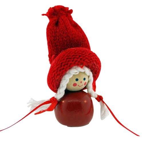 Tomte Santa Girl Ornament (SW02)