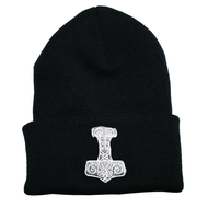 Thor's Hammer Knit Hat/Winter Cap - One Size Fits All (KC-TH)
