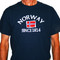 Norway Since 1814 T-Shirt - Navy (NOST)